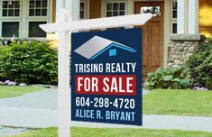 For Sale Sign -2 sided